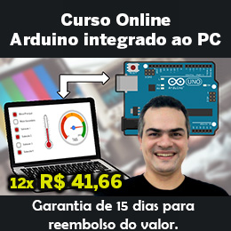 Curso Arduino integrado ao PC