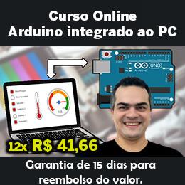 Curso Arduino integrado ao PC